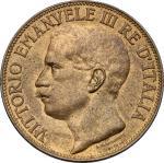 Casa Savoia - Regno di Sardegna - Regno di Italia, Vittorio Emanuele III (1900-1943). 10 centesimi 1