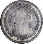 1796年半身像1/4美元 PCGS VG