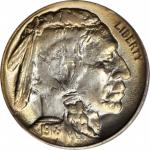 1918/7-D Buffalo Nickel. FS-101. MS-65 (PCGS).