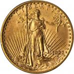 1922 Saint-Gaudens Double Eagle. MS-64 (PCGS).
