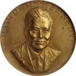 1970 United States Assay Commission Medal. Bronze. 57 mm. By Frank Gasparro. JK AC-114a. Rarity-7. M