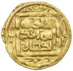 SUFID: Husayn, 1361-1372, AV fractional dinar (1.15g), Khwarizm, AH768, A-2063, F/D-3, al-mulku lill