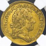 GREAT BRITAIN George I ジョージ1世(1714~27) Guinea 1717 NGC-VF35 VF