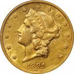 1891-CC Liberty Head Double Eagle. AU-55 (NGC).