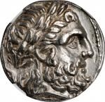 MACEDON. Kingdom of Macedon. Philip II, 359-336 B.C. AR Tetradrachm (14.23 gms), Amphipolis Mint, St