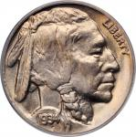 1934-D Buffalo Nickel. MS-65 (PCGS). OGH.