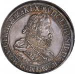 AUSTRIA. 2 Taler, 1604. Hall Mint. Rudolph II (1576-1612). NGC AU-55.