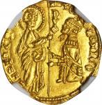 ITALY. Venice. Ducat, ND. Tomaso Mocenigo (1414-23). NGC MS-65.