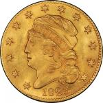 1823 Capped Head Left Half Eagle. Bass Dannreuther-1. Rarity-4+. Mint State-64+ (PCGS).