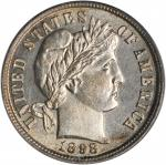 1898 Barber Dime. MS-63 (PCGS).