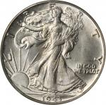 1943 Walking Liberty Half Dollar. Breen-5197. So-Called 1943/2. MS-64 (PCGS). OGH.