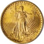 1922 Saint-Gaudens Double Eagle. MS-64+ (PCGS).