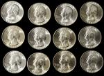 BU Roll of 1946-S Washington Quarters.
