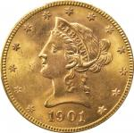 1901-S Liberty Head Eagle. MS-65 (PCGS).