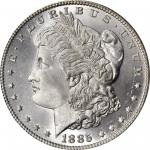 1885 Morgan Silver Dollar. MS-68 (NGC).