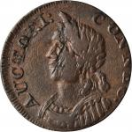 1786 Connecticut Copper. Miller 5.3-N, W-2575. Rarity-2. Mailed Bust Left, Hercules Head. VF-35 (PCG