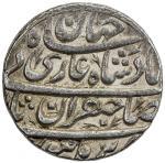 India - Mughal Empire. MUGHAL: Shah Jahan I, 1628-1658, AR rupee (11.40g), Burhanpur, year one (ahad