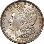 1891 Morgan Silver Dollar. MS-65 (PCGS).