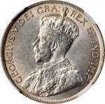 CANADA. Newfoundland. 50 Cents, 1918-C. Ottawa Mint. George V. NGC MS-61.