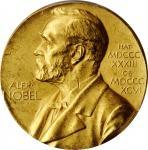 1974年瑞典诺贝尔化学与物理提名委员会金奖。 瑞典皇家造币厂。SWEDEN. Nobel Nominating Committee for Chemistry & Physics Gold Meda