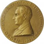 1933 United States Assay Commission Medal. Bronze. 51 mm. By John R. Sinnock and Adam Pietz. JK AC-7