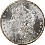 1892-CC Morgan Silver Dollar. MS-63+ (PCGS).