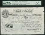 Bank of England, Basil Gage Catterns (1929-1934), 」10, Birmingham 11 October 1929, serial number 119
