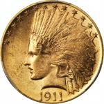 1911 Indian Eagle. MS-64 (PCGS). CAC.