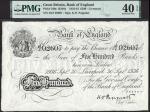 Bank of England, Kenneth Oswald Peppiatt (1934-1949), £500, Liverpool, 30 September 1936, serial num
