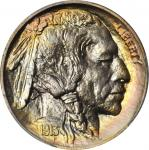 1913 Buffalo Nickel. Type II. Proof-68 (PCGS).