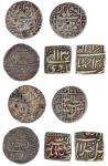 Mughal Empire, Akbar (1556- 1605), square Ilahi Rupees (2), Ahmadabad, month Amardad, yr.39, Delhi,