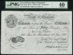 Bank of England, B.G. Catterns, £50, Manchester 28 June 1930, prefix 59X, black and white, ornate cr