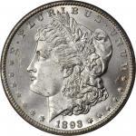 1893-CC Morgan Silver Dollar. MS-64 (PCGS). OGH.