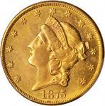 1875-CC Liberty Head Double Eagle. AU Details--Altered Surfaces (PCGS).