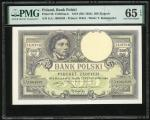 Poland, 500 Zlotych, 1919 (ND 1924), serial number S.A. 1964839, (Pick 58), PMG 65EPQ Gem Uncirculat