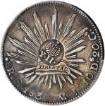 PHILIPPINES. Philippines - Mexico. 8 Reales, ND (1834-37). Isabel II. PCGS Genuine--Cleaned, EF Deta