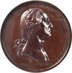 1776 (Circa 1863) Washington Before Boston Medal. U.S. Mint Gunmetal Dies. Bronze. 67.9 millimeters.