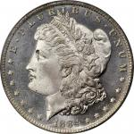 1884-O Morgan Silver Dollar. MS-66 DMPL (PCGS). CAC. OGH.