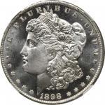1898-O Morgan Silver Dollar. MS-67 DPL (NGC).