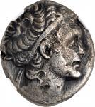 PTOLEMAIC EGYPT. Kleopatra VII Thea, 51-30 B.C. BI Tetradrachm, Alexandreia Mint, Dated RY 9 (44/3 B