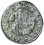 Italian coins;PESARO Giovanni Sforza (1480-1510) Grosso - Biaggi 1904 AG (g 2.14) Leggermente ribatt