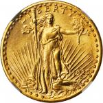 1925-S Saint-Gaudens Double Eagle. MS-61 (NGC).