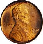 1909 Lincoln Cent. V.D.B. FS-1102. Doubled Die Obverse. MS-64 RD (PCGS).