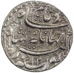 India - Mughal Empire. MUGHAL: Jahangir, 1605-1628, AR rupee (11.39g), Lahore, AH1027 year 12, KM-14
