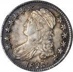 1825 Capped Bust Half Dollar. O-111. Rarity-3. MS-62 (PCGS). CAC. OGH--First Generation.