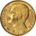 ITALY. 100 Lire, 1912-R. PCGS MS-63 Secure Holder.
