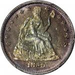 1859 Liberty Seated Half Dime. Proof-67 (PCGS). CAC.