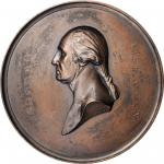 Electrotype Copy of the Circa 1851 Declaration of Independence Signing Ceremony medal. Musante GW-18