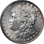 1895-O Morgan Silver Dollar. MS-60 (NGC).