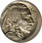 1936 Buffalo Nickel--Struck 10% Off-Center at 9:30--AU-50 (ANACS).